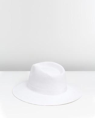 Ace Of Something Pesaro Fedora - Hats (White)