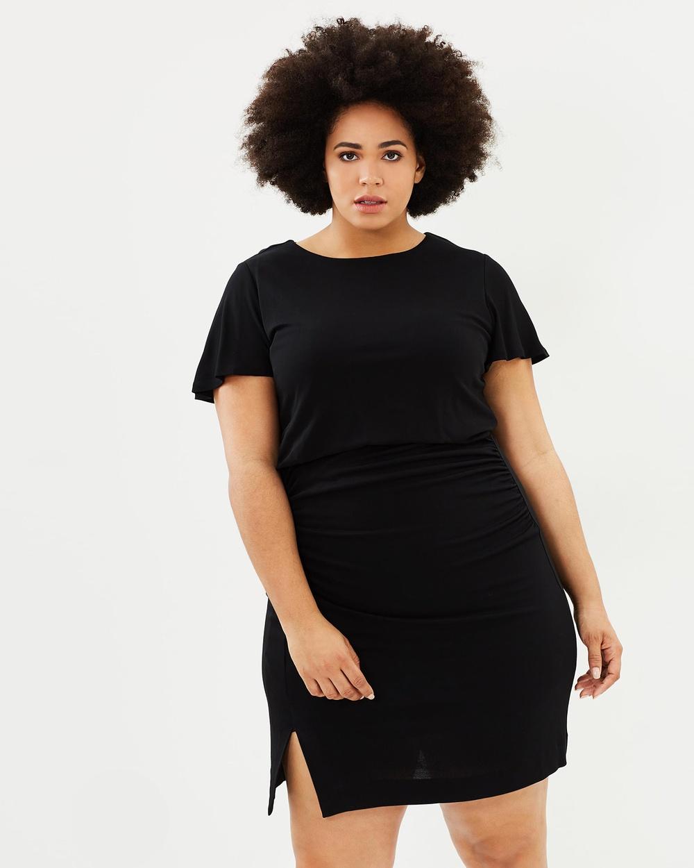 Violeta by MNG Black David Dress