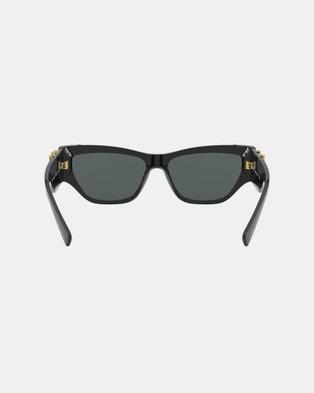 Versace 0VE4383 - Sunglasses (Black)