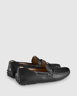 Aquila - Balfort Driving Shoes Casual (Black)