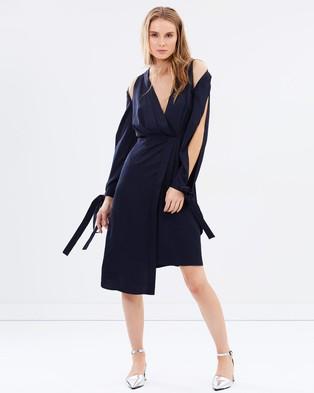 Keepsake the Label – Too Late Dress – Dresses (Navy)