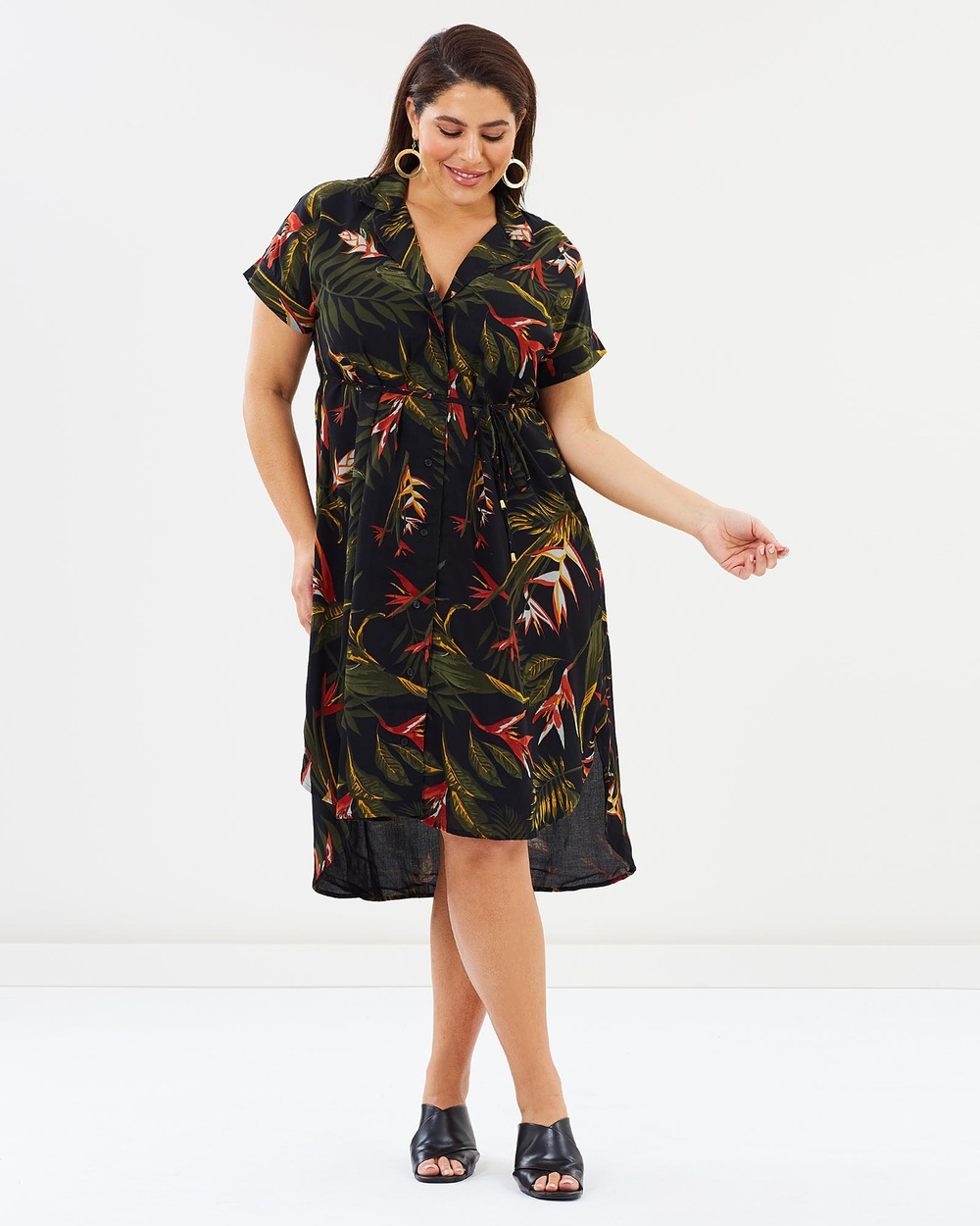 Hope & Harvest Paradiso Juno Shirt Dress