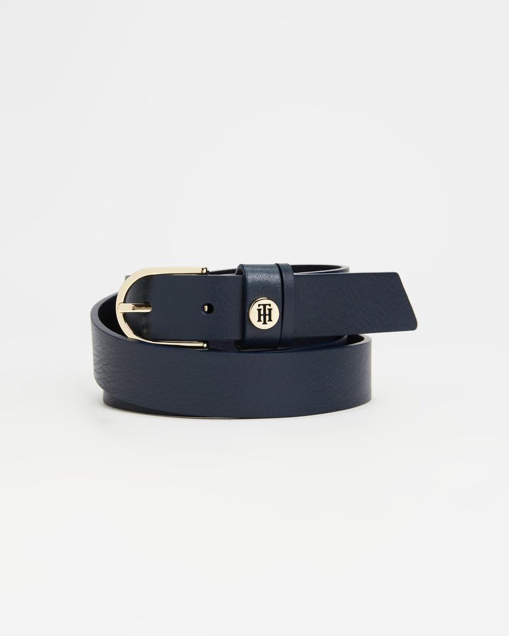 Tommy Hilfiger Classic Belt 2.5cm Belts Desert Sky