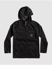 DC Shoes - Youth Mastaford Water Resistant Hooded Jacket
