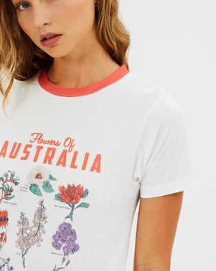 Ryder State Flora Tee - T-Shirts & Singlets (Multi)