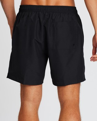 Calvin Klein Intense Power Medium Drawstring Boardshorts - Shorts (Black)