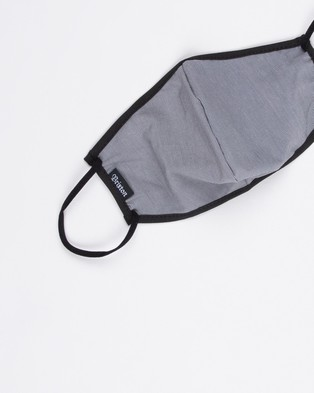 Brixton Anti Mac Face Mask - Face Masks (Grey Heather)