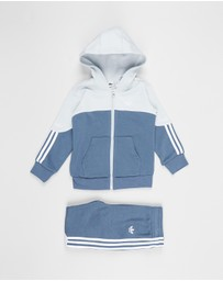 adidas Originals - Outline Full-Zip Hoodie - Babies-Kids