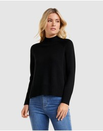 Forever New - Ulla Stand Neck Wool Jumper