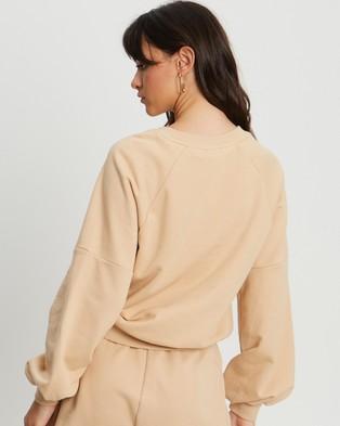 BWLDR Pull Over Sweater - Sweats (Tan)