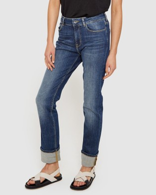 Jag Bianca High Rise Straight Jeans - Jeans (brown)