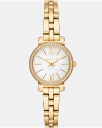 Michael Kors - Sofie Gold-Tone Analogue Watch