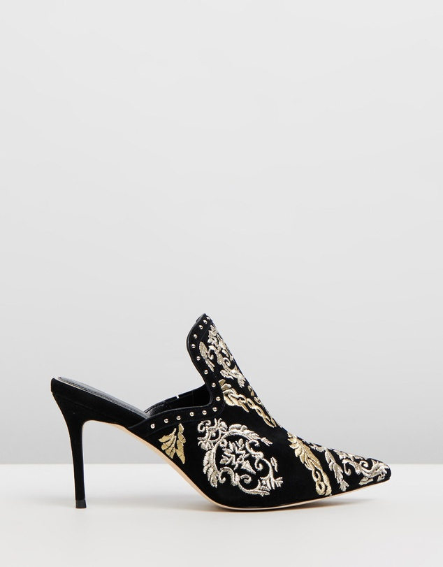 Camilla - Point Heel Mules