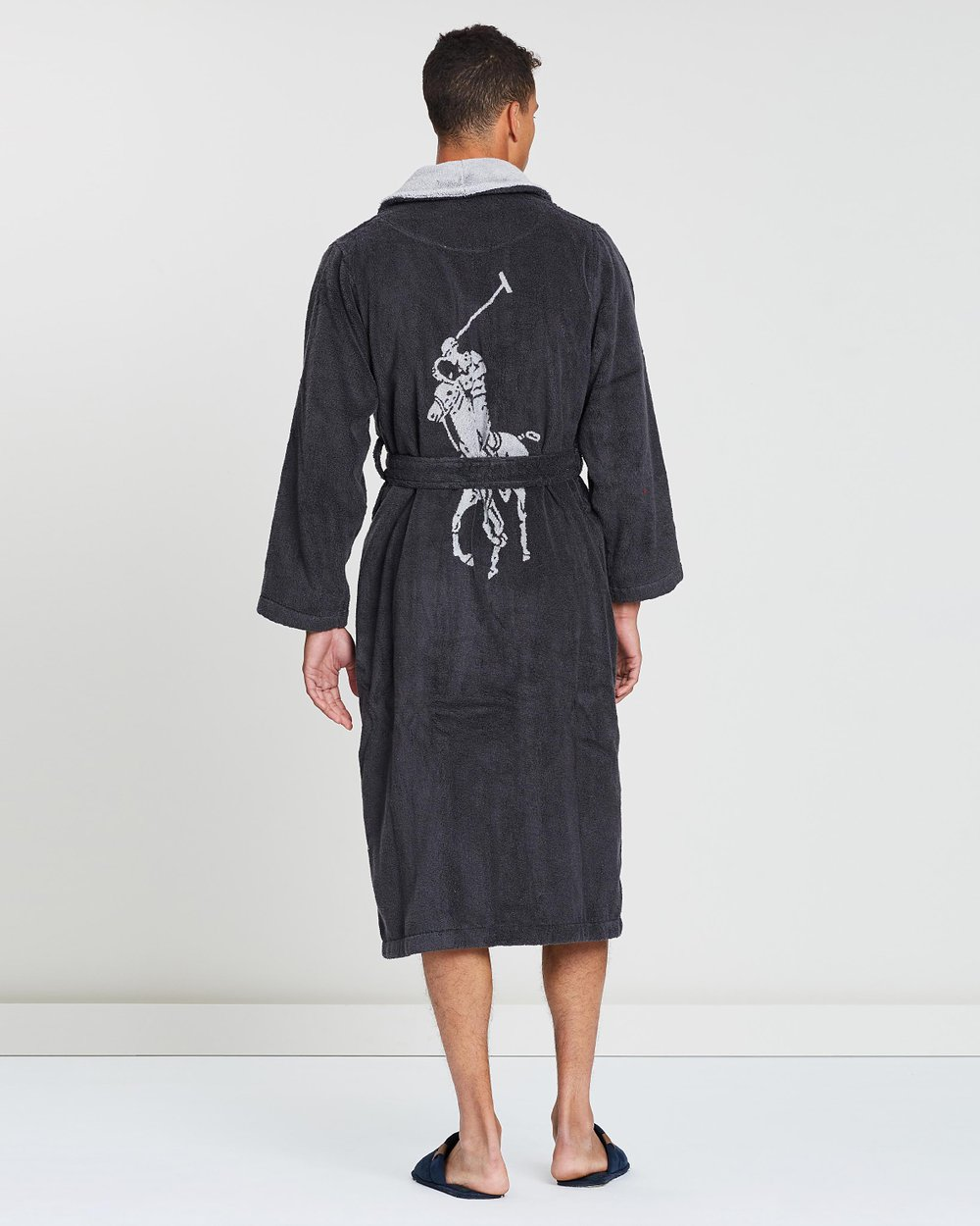 Long Sleeve Shawl-Collar Robe by Polo Ralph Lauren Online   THE ICONIC    Australia f68f13f5d09