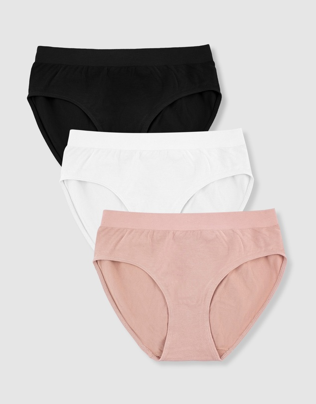 B Free Intimate Apparel - Bamboo High Cut Briefs