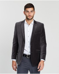 3 Wise Men - The Larrabee Velvet Blazer