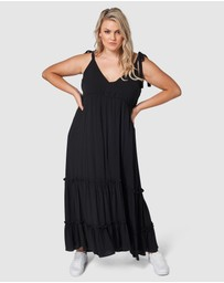 Indigo Tonic - Gina Tiered Maxi Dress