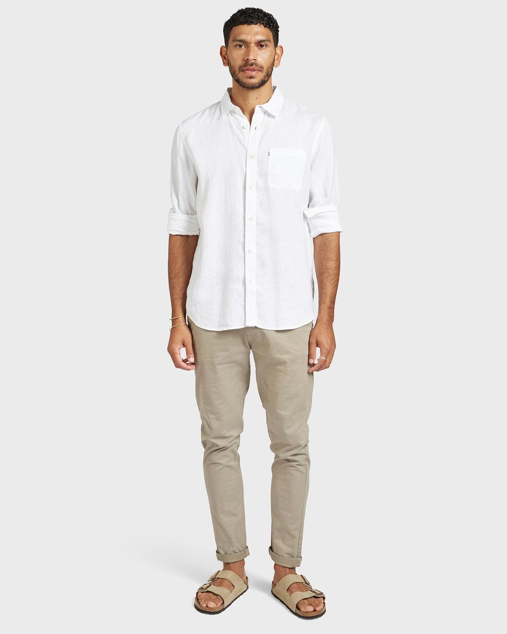 Academy Brand Cooper Slim Chino Pants Green