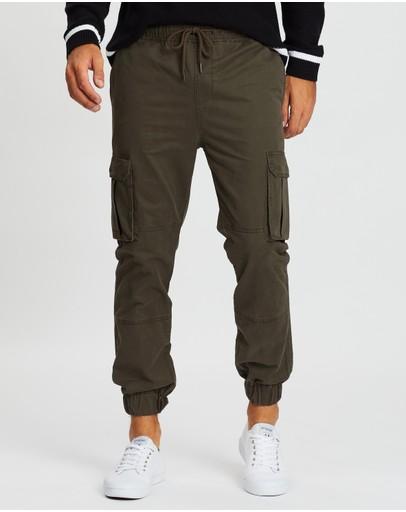 Staple Superior Portland Cargo Jogger Pants Khaki