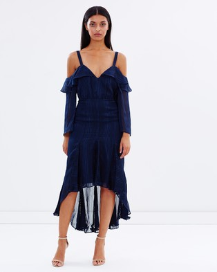 Talulah – Midnight Allure Dress – Dresses (Navy)