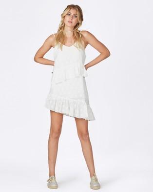 Times Ten – Solid Ground Dress – Dresses (White Spot)