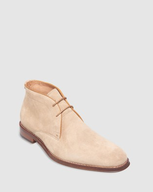 3 Wise Men The Vedder - Boots (Cognac Suede)