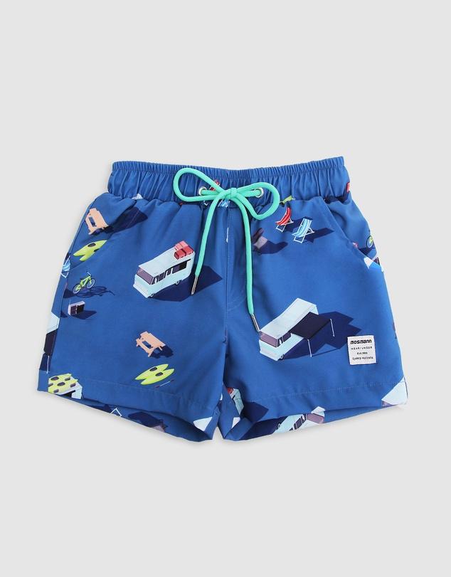 Men Origami Swim Shorts - Kids