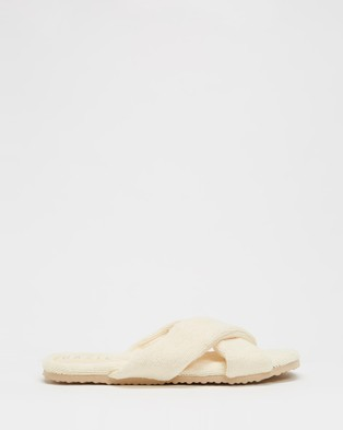 Dazie Cutie Slippers - Slippers & Accessories (Yellow Terry)