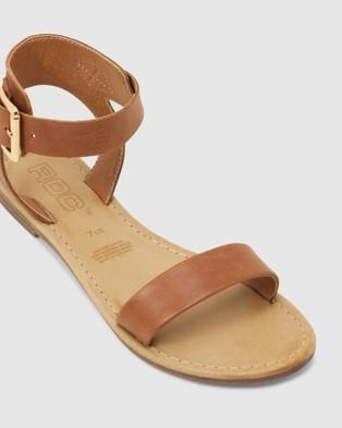 ROC Boots Australia Enza - Sandals (Tan)