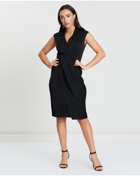 Forcast - Aileen V-Neck Dress