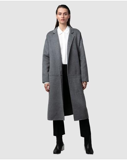 Nique Maaya Coat Dark Grey