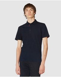 Jack London - Navy Trimmed Polo