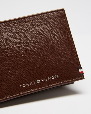 Tommy Hilfiger Business Mini CC Wallet - Wallets (Chestnut)