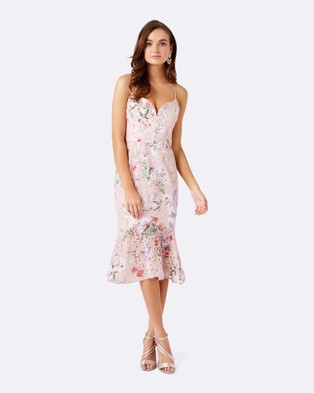 Forever New – Milton Cami Flippy Dress – Dresses (Print)