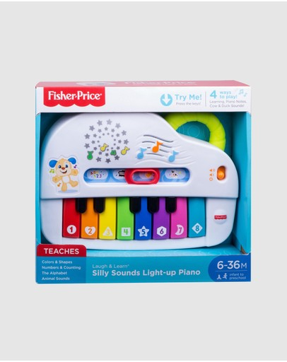 Fisher Price - Laugh & Learn Silly Sounds Light-Up Piano