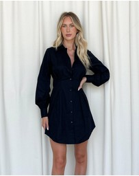 Dazie - Straighten Up Shirt Dress
