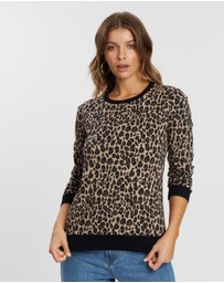 Atmos&Here - Patty Leopard Sweat