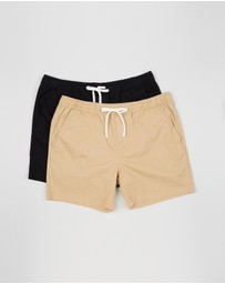 Staple Superior Big & Tall - Staple Big & Tall Slater Shorts 2-Pack