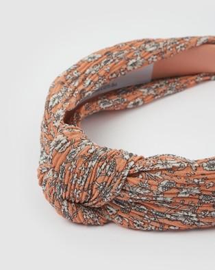 Izoa Gardenia Headband - Hair Accessories (Pink)