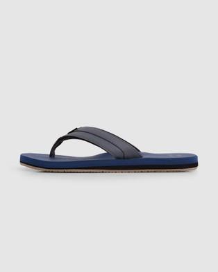 Billabong All Day Impact Cush Thongs - Sandals (NAVY)