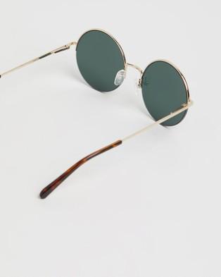 Local Supply Studio - Sunglasses (Gold & Dark Green)