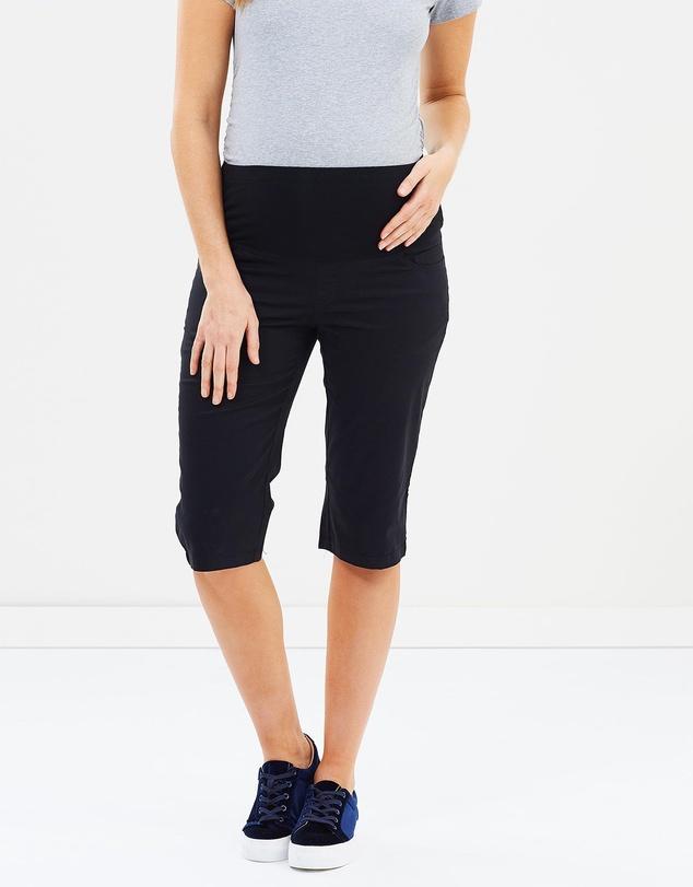 Women Maternity Capri Pants