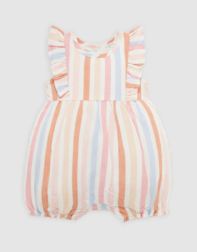 Purebaby - Rainbow Playsuit - Babies