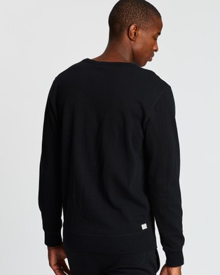 Diesel UMLT Willy Sweat Shirt - Sweats (Black)