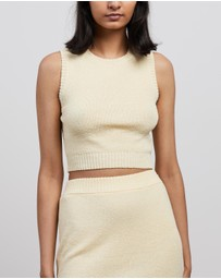 Bec + Bridge - Mimi Knit Crop Top