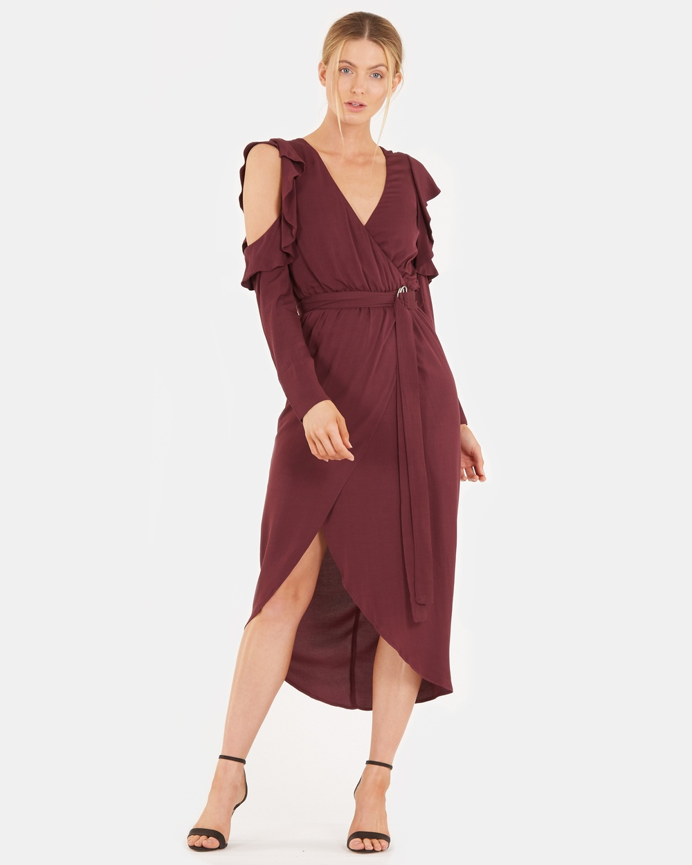 Amelius Wine Belize Dress