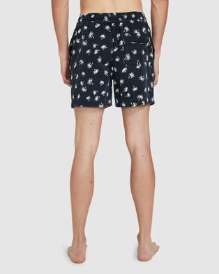 Arvust Holiday Volley Black Shorts - Swimwear (BLACK)