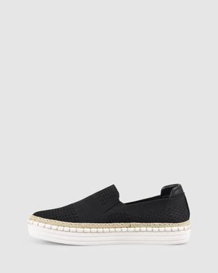 Verali Queen - Slip-On Sneakers (Black)
