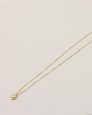 Native Sol Miley Gold Drop Necklace - Jewellery (Gold)