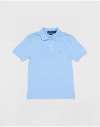 Polo Ralph Lauren - Cotton Mesh Polo Shirt - Teens
